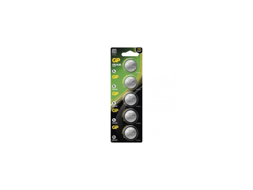 Lithiová knoflíková baterie GP CR2430