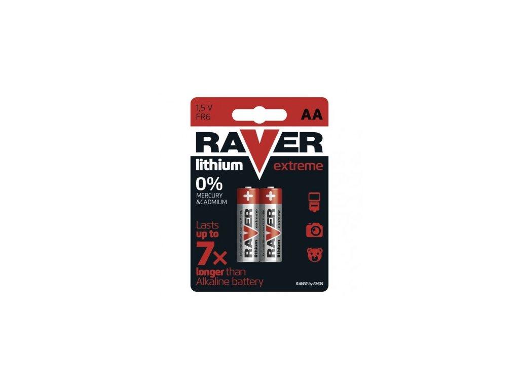 Lithiová baterie RAVER AA (FR6)