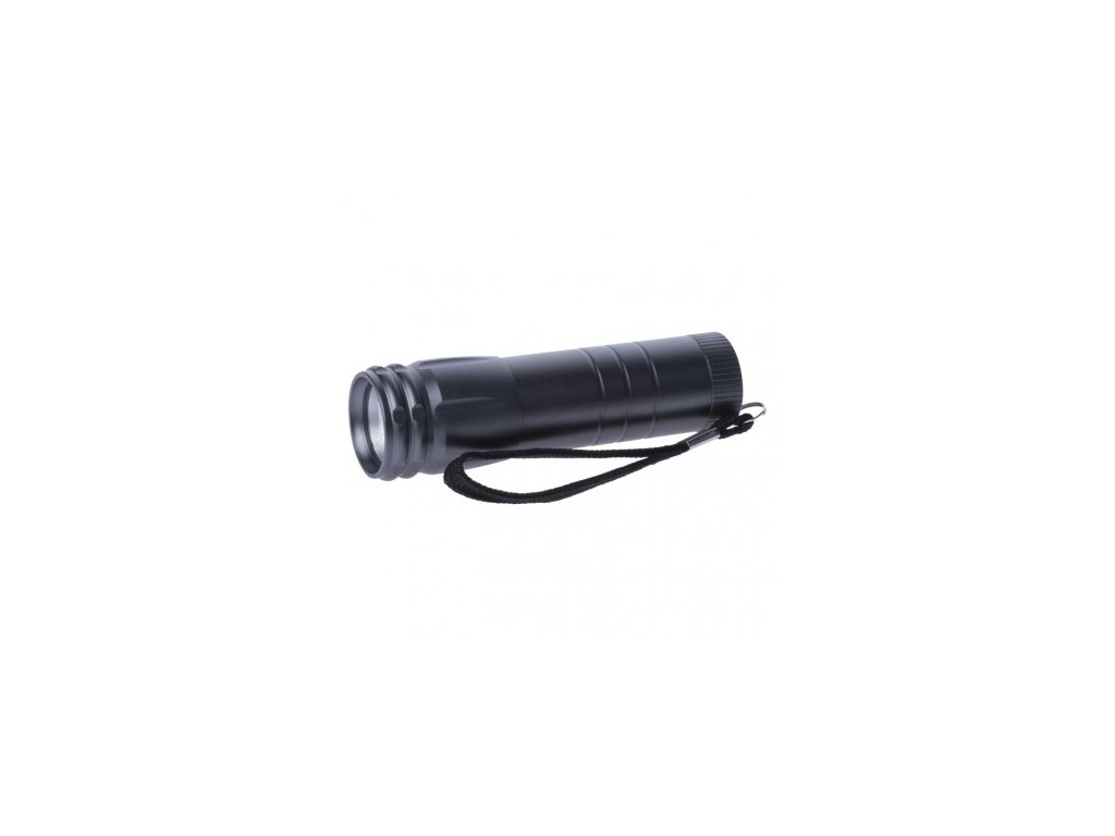 COB LED ruční kovová svítilna P4705, 100 lm, 3× AAA, 12 ks