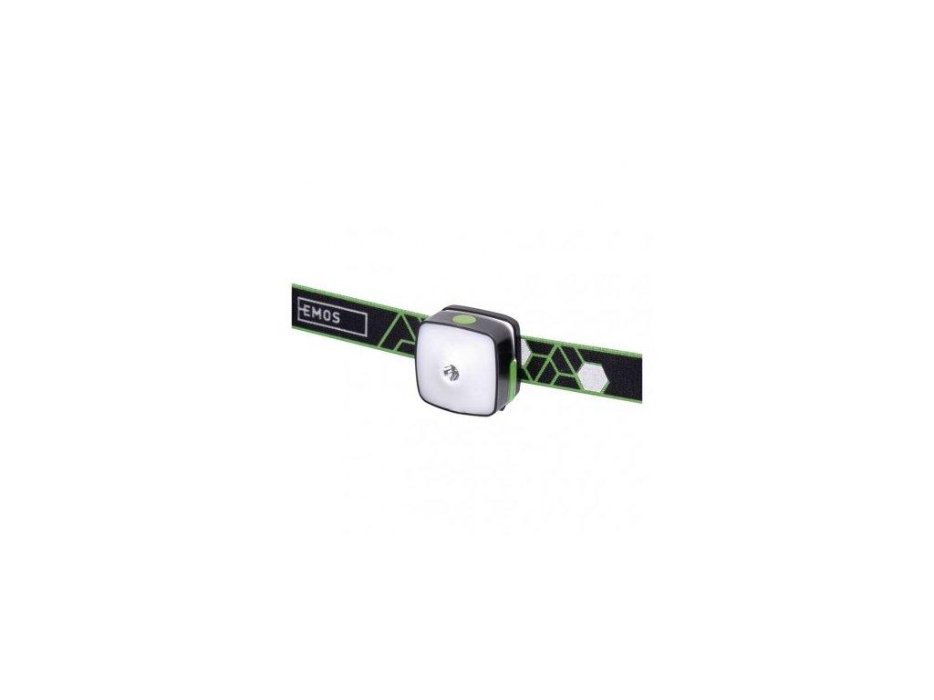 CREE + SMD LED nab. čelovka P3535, 110 lm,55m,Li-Pol 850 mAh