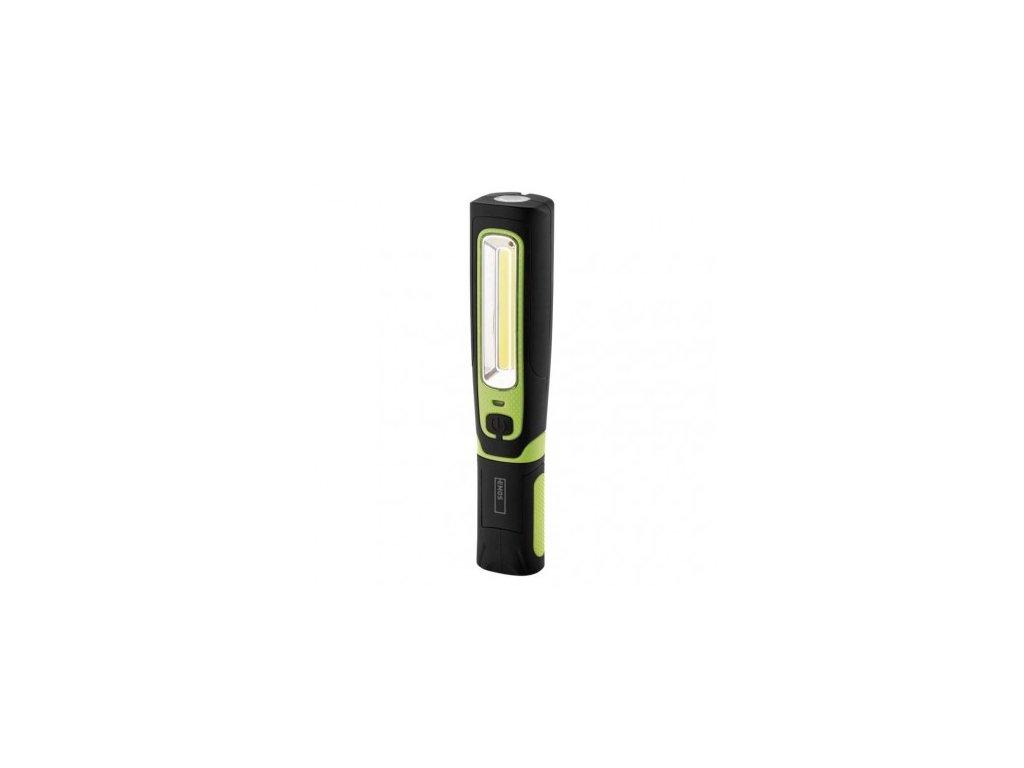 LED + COB LED nabíjecí svítilna P4532, 470 lm, 1800 mAh