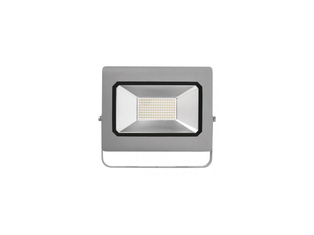 LED reflektor PROFI šedý, 100W neutrální bílá