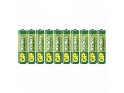 Zinková baterie GP Greencell AAA (R03)