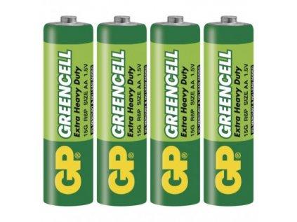 Zinková baterie GP Greencell AA (R6)