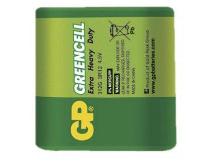 Zinková baterie GP Greencell (4,5V) 3R12