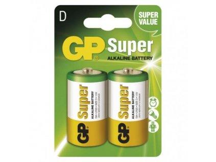 Alkalická baterie GP Super D (LR20)