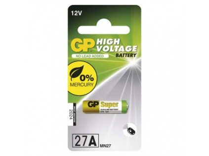 Alkalická speciální baterie GP 27AF (MN27, V27GA) 12 V
