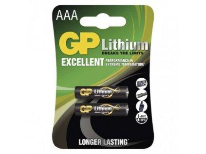 Lithiová baterie GP AAA (FR03)