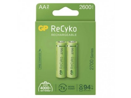 Nabíjecí baterie GP ReCyko 2700 AA (HR6)