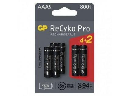 Nabíjecí baterie GP ReCyko Pro Professional AAA (HR03)