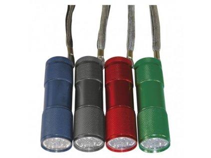 LED ruční kovová svítilna P3848A, 50 lm, 3× AAA, 24 ks