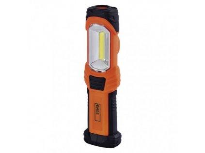 COB LED + LED pracovní svítilna P4111, 350 lm, 3× AA