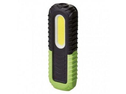 COB LED + LED nabíjecí prac. svítilna P4531, 400 lm,2000 mAh
