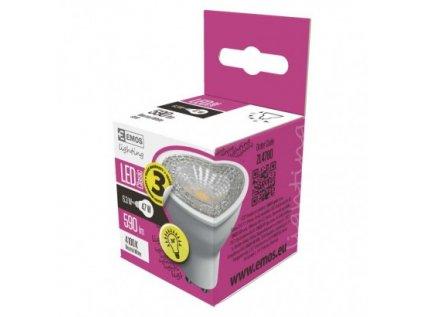 LED žárovka Premium MR16 6,3W GU10 neutrální bílá