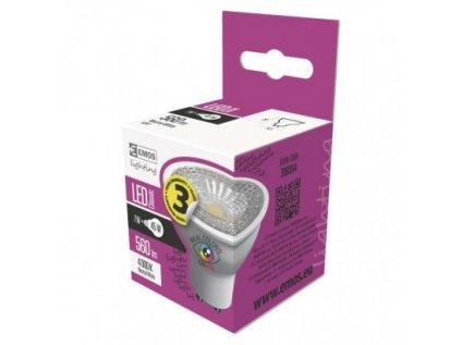 LED žárovka Classic MR16 7W GU10 neutrální bílá Ra97