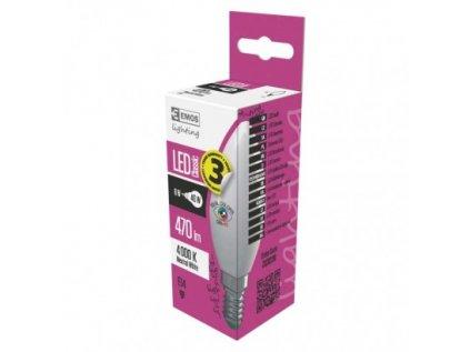LED žárovka Classic Candle 6W E14 neutrální bílá Ra97