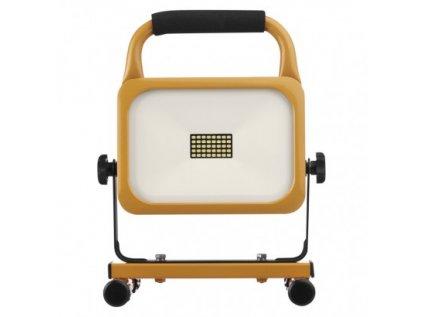 LED reflektor AKU nabíjecí přenosný, 20 W studená bílá