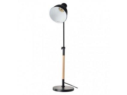Stolní lampa WINSTON na žárovku E27, černá