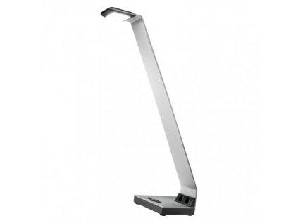 LED stolní lampa ALVIN, stříbrná