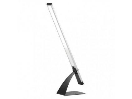 LED stolní lampa LENNY, stříbrná