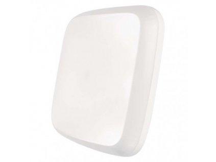 LED přisazené svítidlo Dori, čtvercové bílé 18W tepl.b.,IP54