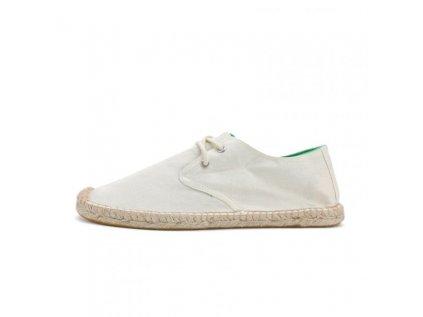 Max 922Wh Espadrilky textilní boty White sand - bílé