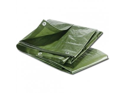 Maxpack 23376 Plachta zakrývací s oky 5x8m 65g/m2 zelená
