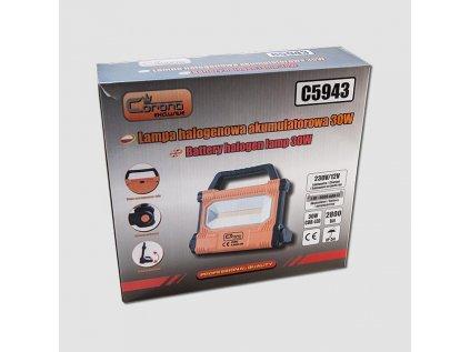 Svítilna halogenová 30W COB LED 230/12V