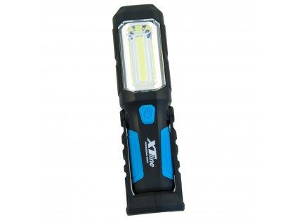 Svítilna montážní nabíjecí LED COB 2W + 1 x LED 1W