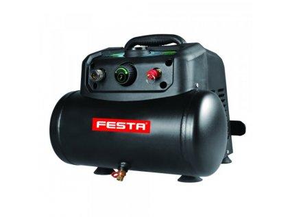 Kompresor FESTA bezolejový 6 l