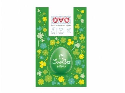 Set na vajíčka OVO SET tekutá barva,obtisky a košilky