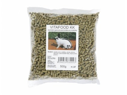Směs krmná pro zakrslé králíky 500g