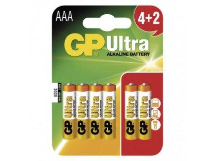 Alkalická baterie GP Ultra AAA (LR03)
