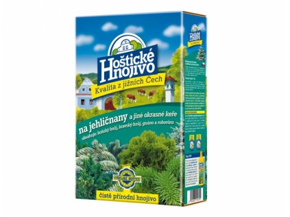 Hnojivo HOŠTICKÉ na jehličnany 1kg