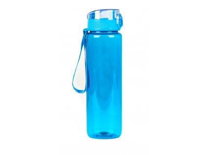 Láhev G21 na pití, 1000 ml, modrá, bez potisku