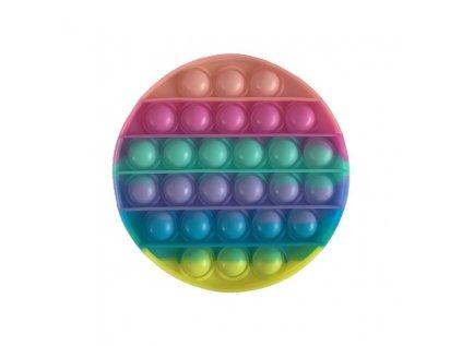 Antistresová hračka POP IT kolečko barevné