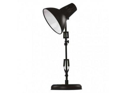 Stolní lampa DUSTIN na žárovku E27, černá