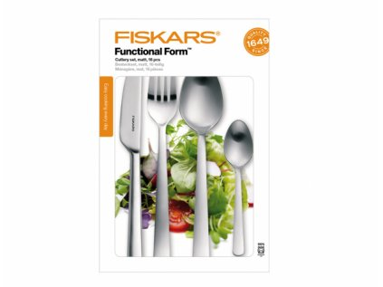 Souprava příborů FISKARS FUNCTIONAL FORM matná 16ks 1002958