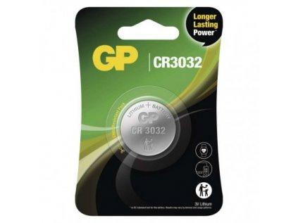 Lithiová knoflíková baterie GP CR3032