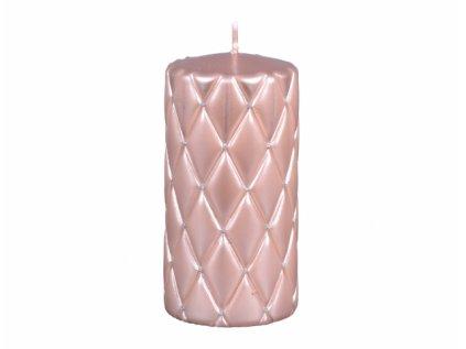 Svíčka FLORENCIA VÁLEC vánoční d7x10cm