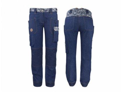 Kalhoty GARDEN GIRL DENIM velikost 34/XS