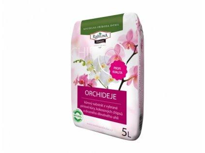 Substrát RAŠELINA PREMIUM pro orchideje kůrový 5l