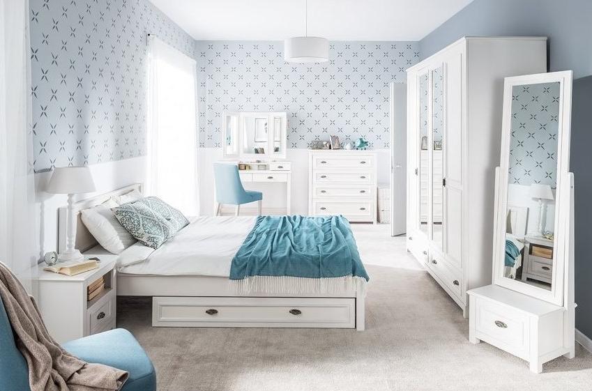 Romantická a vkusná – manželská spálňa, ktorá praje sladkým snom