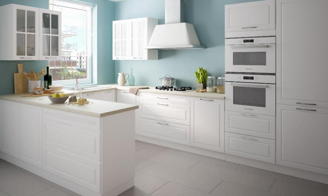 Nadčasová biela v kuchyni – 6 elegantných variácií