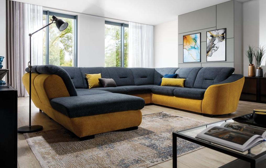 Nadčasová sivá a optimistická žltá v interiéri: 5 nevšedných inšpirácií