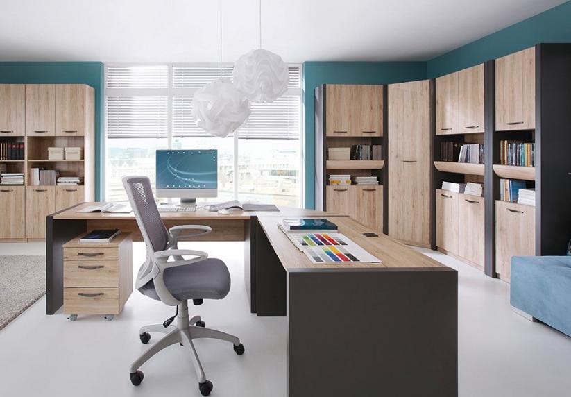 Vo farebnej pracovni budete kreatívnejší – takto si ju zariadite štýlovo a prakticky