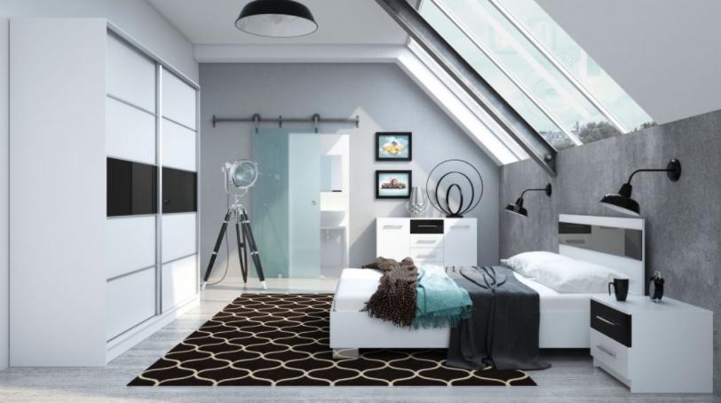 Malá spálňa a veľa úložného priestoru – 4 rafinované možnosti