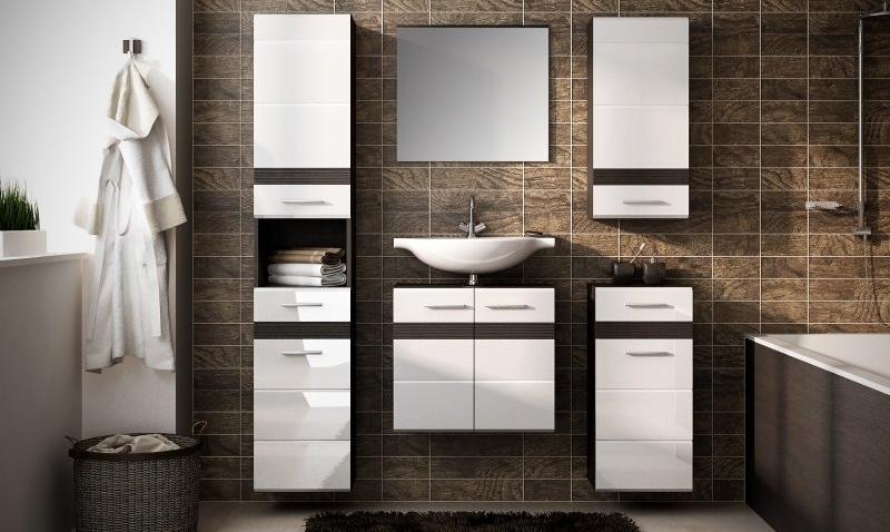 V tejto malej kúpeľni panuje veľká pohoda: 4 praktické inšpirácie