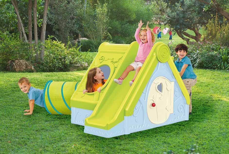 Detský raj priamo u vás v záhrade: Tento nábytok vám nesmie chýbať!