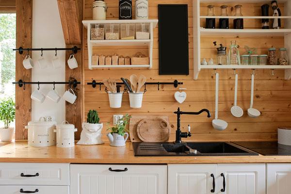 Kuchyňa a vidiecky štýl